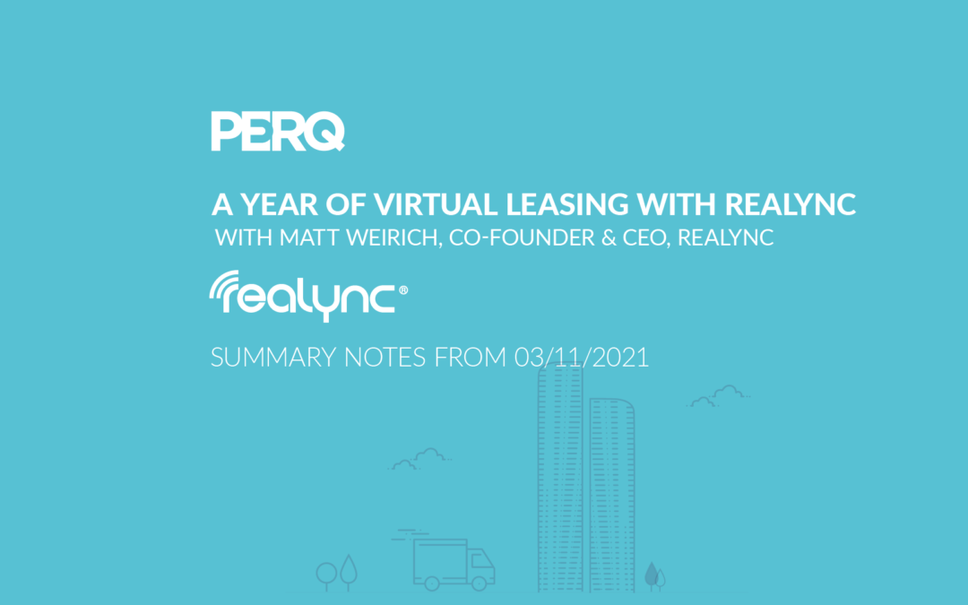 A Year of Virtual Leasing with Realync